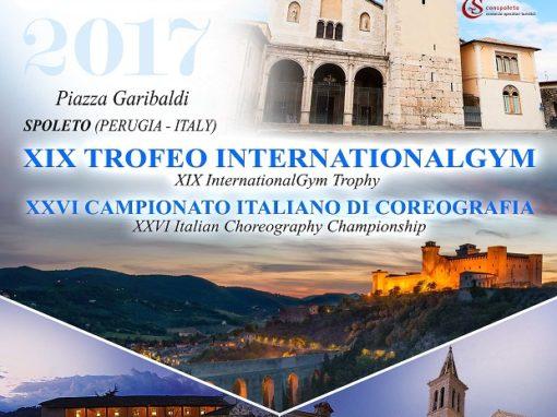 XIX TROFEO INTERNATIONALGYM  E XXVI CAMPIONATO ITALIANO DI COREOGRAFIA