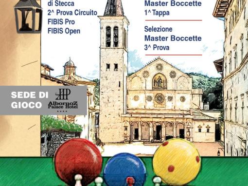 Campionato italiano di stecca e boccette, Spoleto 20-29 gennaio 2018