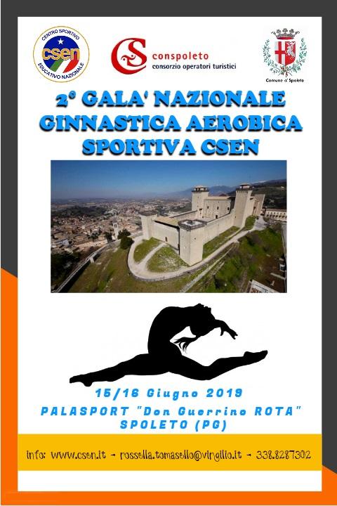 2° Galà Nazionale Ginnastica Aerobica Sportiva CSEN
