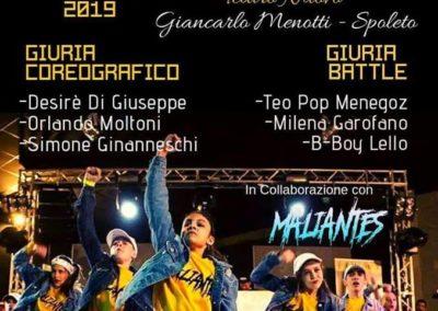"Umbria HIP HOP Contest – DANCE Across UMBRIA _ Spoleto, Teatro Nuovo ""G. Menotti"" – 3 gennaio 2019"
