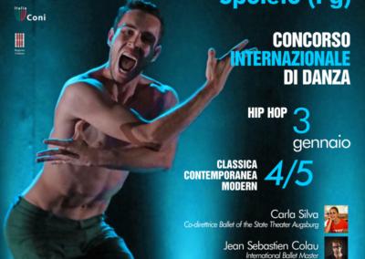 """Concorso Internazionale di Danza – DANCE Across UMBRIA _ Spoleto, Teatro Nuovo """"G. Menotti"""" 3-5 gennaio 2019"""