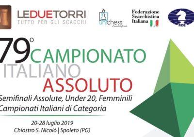 79° CAMPIONATO ITALIANO ASSOLUTO SCACCHI