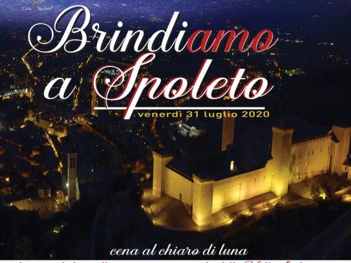 BrindiAmo a Spoleto. venerdì 31 luglio 2020
